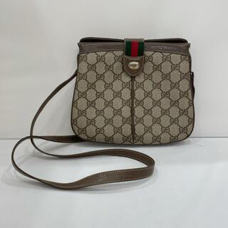 グッチ(Gucci)の577 美品 オールドグッチ ショルダーバッグ シェリーライン G柄(ショルダーバッグ)