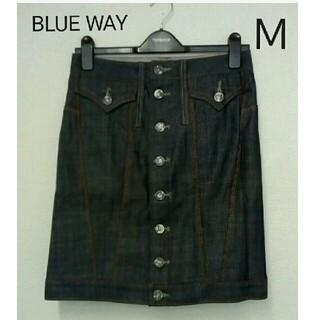 ブルーウェイ(BLUE WAY)のデニム タイトスカート(ひざ丈スカート)