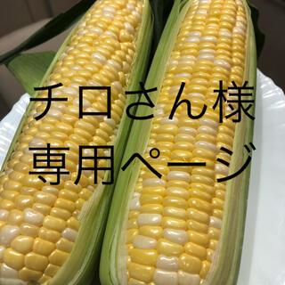 チロさん様専用ページ とうもろこし(野菜)