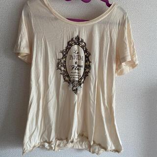 アクシーズファム(axes femme)のアクシーズ  バックリボン Tシャツ(Tシャツ(半袖/袖なし))