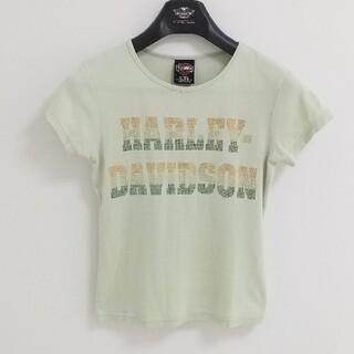 ハーレーダビッドソン(Harley Davidson)のハーレーダビッドソン レディース Tシャツ プリントTシャツ グリーン サイズS(Tシャツ(半袖/袖なし))