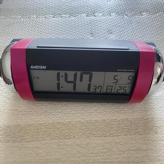 セイコー(SEIKO)のセイコー 電波目覚まし時計 大音量(置時計)
