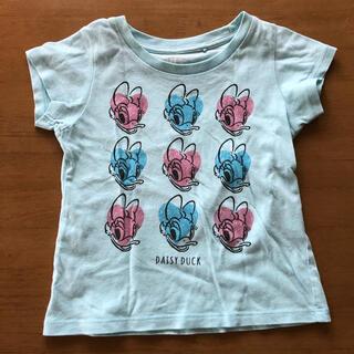 ユニクロ(UNIQLO)の100㎝ ユニクロ デイジー Tシャツ(Tシャツ/カットソー)
