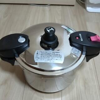 ワンダーシェフ(ワンダーシェフ)の圧力鍋 5.5リットル ワンダーシェフ(鍋/フライパン)
