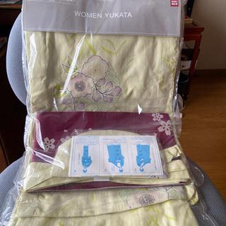 ユニクロ(UNIQLO)の浴衣セット 2枚(浴衣)