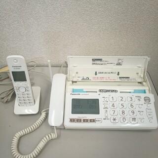 パナソニック(Panasonic)のpanasonicおたっくすFAX KX-PD303DL(オフィス用品一般)