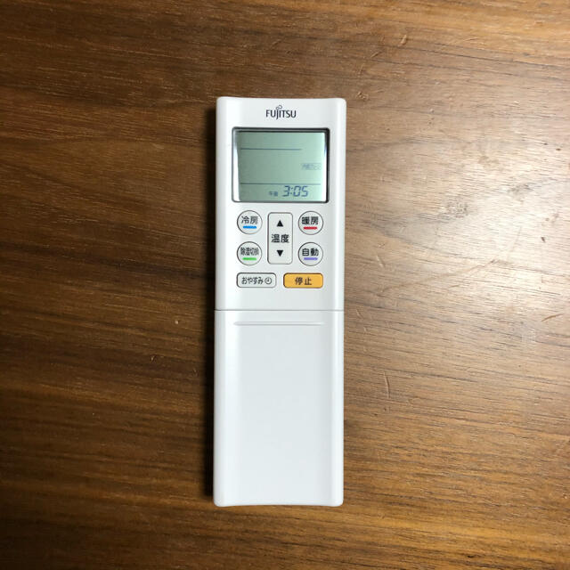 富士通(フジツウ)のFUJITSU エアコン リモコン AR-RFF2J スマホ/家電/カメラの冷暖房/空調(エアコン)の商品写真