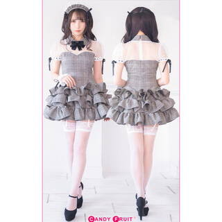 キャンディフルーツ キャンフル ジルコラボ グレースメイド服(衣装一式)