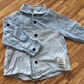 エフオーキッズ(F.O.KIDS)のアプレレクール 80 長袖シャツ(シャツ/カットソー)