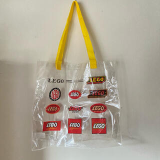 レゴ(Lego)の【LEGO】非売品 クリアバッグ(ノベルティグッズ)