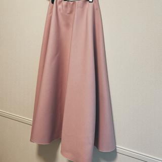 アメリヴィンテージ(Ameri VINTAGE)のbirthdaybash フレアスカート ボンディングスカート(ひざ丈スカート)