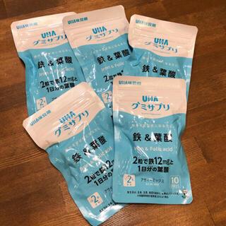 ユーハミカクトウ(UHA味覚糖)のUHA 味覚糖 グミサプリ 鉄&葉酸 サプリ(その他)