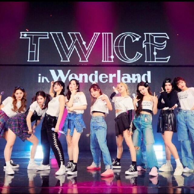 Waste(twice)(ウェストトゥワイス)のTWICE 2021オンライン Live wonderland 高画質 日本語歌 エンタメ/ホビーのDVD/ブルーレイ(アイドル)の商品写真