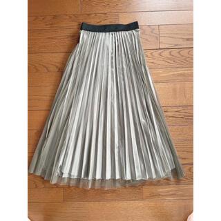オリーブデオリーブ(OLIVEdesOLIVE)のプリーツスカート/チュールスカート(ロングスカート)