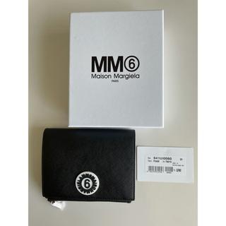 エムエムシックス(MM6)のMM6 ロゴアップリケ付きフェイクレザー財布(財布)