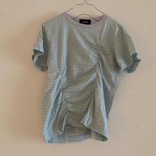 マルタンマルジェラ(Maison Martin Margiela)のsodukスドーク2020ss 変形Tシャツ 美品(Tシャツ(半袖/袖なし))
