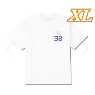 WIND AND SEA WDS ウィンダンシー ロゴTシャツ ホワイト XL(Tシャツ/カットソー(半袖/袖なし))