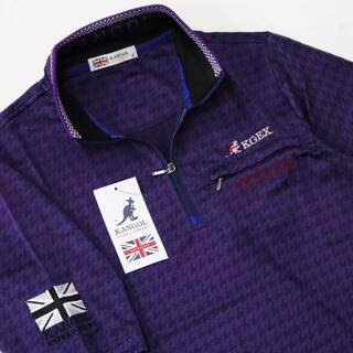 カンゴール(KANGOL)の(新品) KANGOL ハーフジップ ポロシャツ  (ポロシャツ)