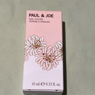 ポールアンドジョー(PAUL & JOE)のポールアンドジョー ネイルカラー 19番 両爪に一度づつ塗布のみ(マニキュア)