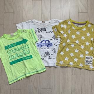 ニシマツヤ(西松屋)の95㎝ Tシャツ 男の子 3点セット(その他)