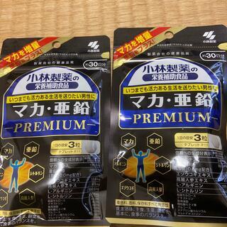 コバヤシセイヤク(小林製薬)の小林製薬 マカ亜鉛 プレミアム 30日分×2袋(その他)