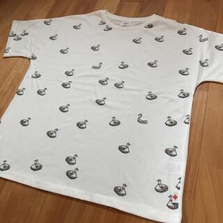 ジムマスター(GYM MASTER)のアヒルボート柄 Tシャツ(Tシャツ/カットソー(半袖/袖なし))