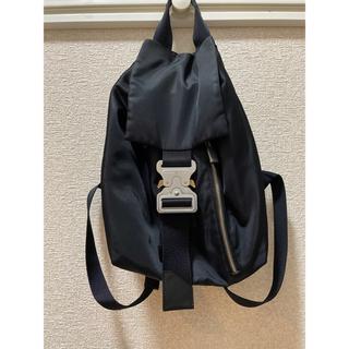 ディオール(Dior)の1017 ALYX 9SM ブラックタンクバックパック(バッグパック/リュック)