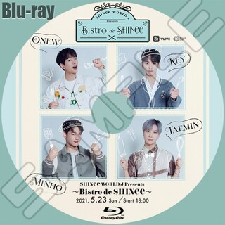 シャイニー(SHINee)のSHINee ~Bistro de SHINee~🔘Blu-ray(ミュージック)