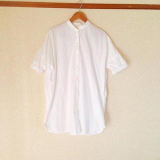 ムジルシリョウヒン(MUJI (無印良品))のオーバーサイズシャツ(ひざ丈ワンピース)