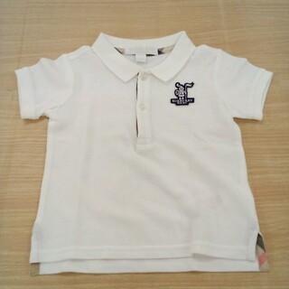 バーバリー(BURBERRY)のバーバリー 80cm 半袖 ポロシャツ 02MN05241019 (シャツ/カットソー)
