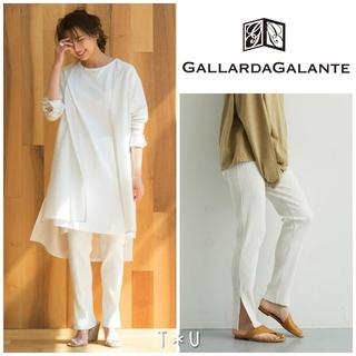 ガリャルダガランテ(GALLARDA GALANTE)のGALLARDAGALANTE リブカットパンツ(カジュアルパンツ)