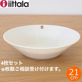 イッタラ(iittala)のイッタラティーマ 21cmボウル ホワイト4個(食器)