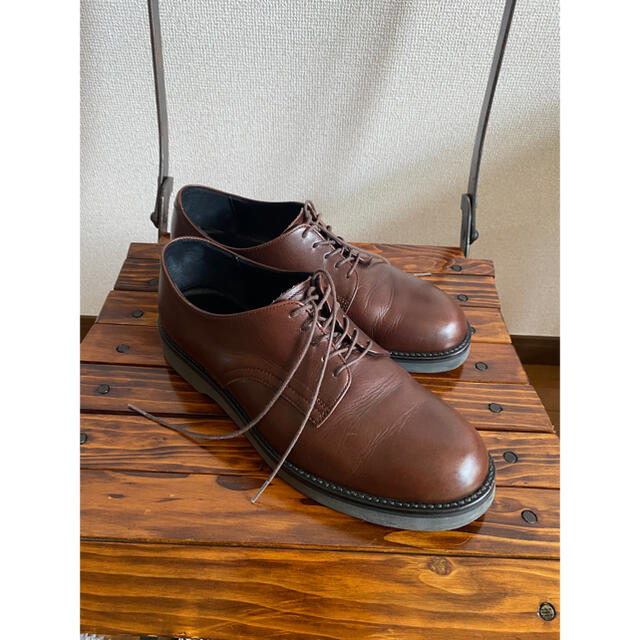 PADRONE(パドローネ)のPADRONE  DERBY PLAIN TOE SHOES size42 メンズの靴/シューズ(ドレス/ビジネス)の商品写真