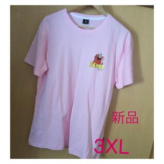 セサミストリート(SESAME STREET)の☆3XL セサミストリート ELMO Tシャツ☆新品(Tシャツ(半袖/袖なし))
