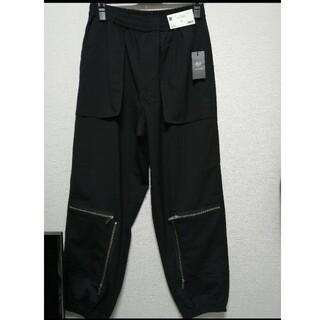 UNDERCOVER - GU UNDERCOVER ジップジョガーパンツ Lサイズ ブラック 黒
