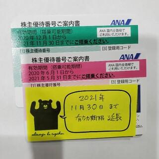 エーエヌエー(ゼンニッポンクウユ)(ANA(全日本空輸))のANA 株主優待  2枚(その他)