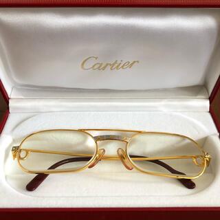 カルティエ(Cartier)のcartier 金 メガネ(サングラス/メガネ)