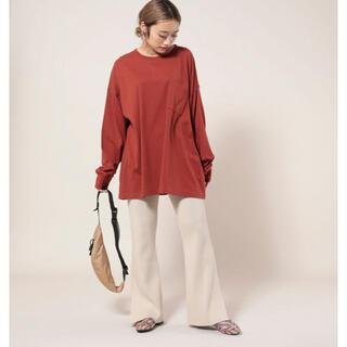 フリークスストア(FREAK'S STORE)のポケットビッグロンT(ビッグシルエットトップス)(Tシャツ(長袖/七分))