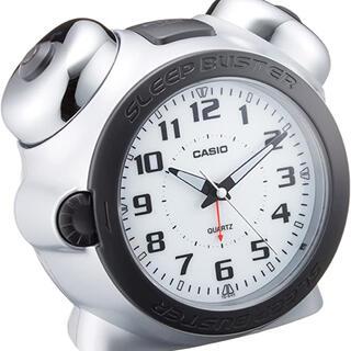 カシオ(CASIO)の【STI様専用】CASIO スリープバスター〈目覚まし時計TQ-645S-8JF(置時計)