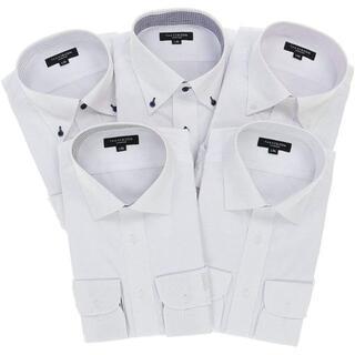 タカキュー(TAKA-Q)の[タカキュー] ドレスシャツ スリムフィット ワイシャツ 5枚セット  3L(その他)