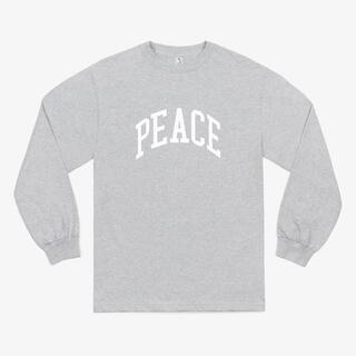ワンエルディーケーセレクト(1LDK SELECT)のJJJJound Peace University Athletic Grey(Tシャツ/カットソー(七分/長袖))