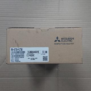 ミツビシデンキ(三菱電機)の新品 三菱 産業用インバータFR-E720-0.75K(メンテナンス用品)