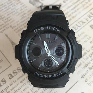 ジーショック(G-SHOCK)のG-SHOCK  電波ソーラー オールブラック(腕時計(デジタル))