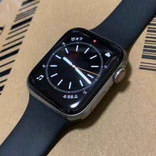 アップル(Apple)のApple Watch edition(Series6) 44mm(腕時計(デジタル))