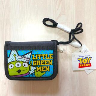ディズニー(Disney)の新品未使用 ディズニー トイストーリー エイリアン 財布 折財布 キッズ(財布)