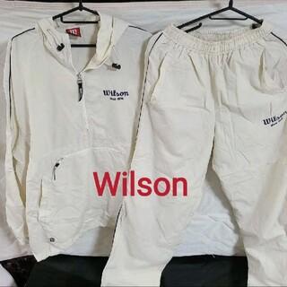 ウィルソン(wilson)のウィルソン 上下セット レディース Mサイズ  Wilson  セットアップ(ウェア)