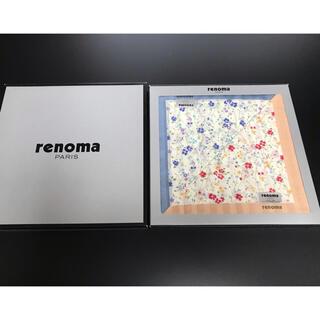 レノマ(RENOMA)のrenoma*ハンカチ2枚セット(ハンカチ)