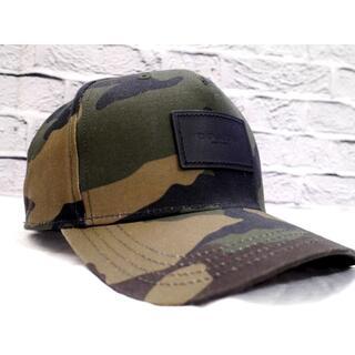 COACH - 美品◆COACH コーチ 5Panelレザーパッチ ベースボール キャップ 帽子