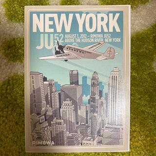 リモワ(RIMOWA)のRIMOWA リモワのステッカー NEWYORK(旅行用品)