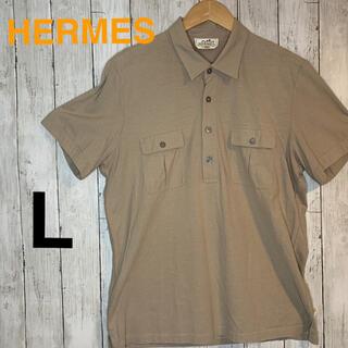 エルメス(Hermes)の【特売売り切り】HERMES 人気色 ポロシャツ Lサイズ(ポロシャツ)